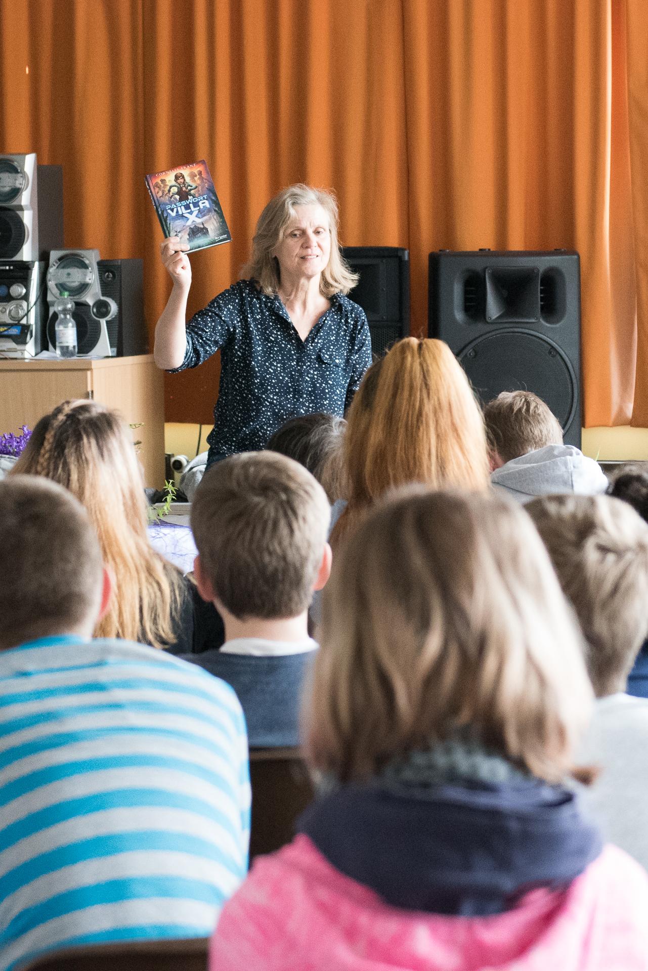 Autorenbegegnung mit Cornelia Franz – Schulrat-Habermalz-Schule